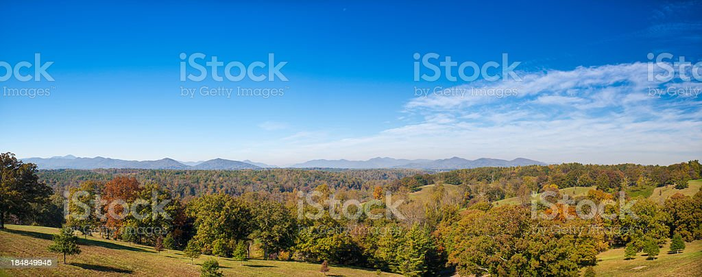 Great Smoky Mountains, North Carolina, USA royalty-free stock photo