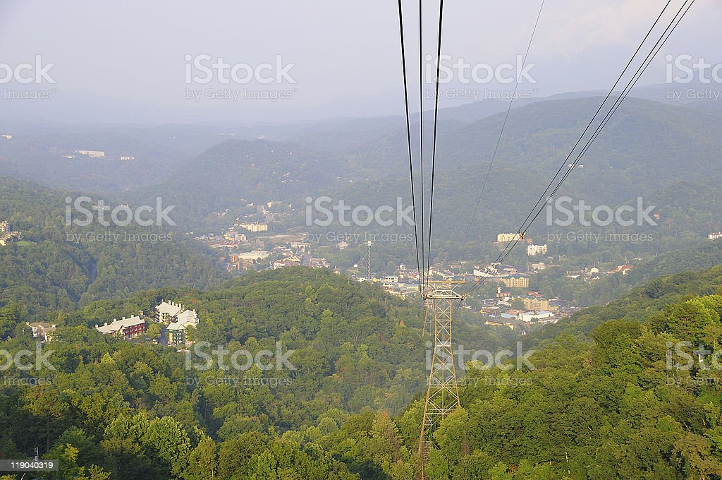 Great Smoky Mountains royalty-free stock photo