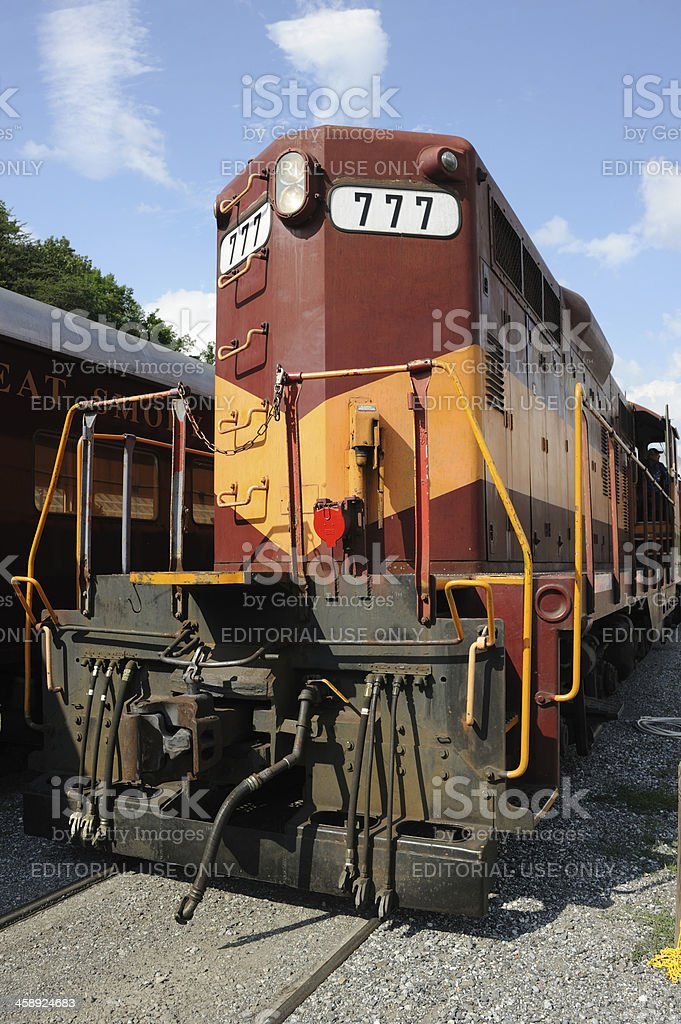 Great Smoky Mountains Railroad stock photo