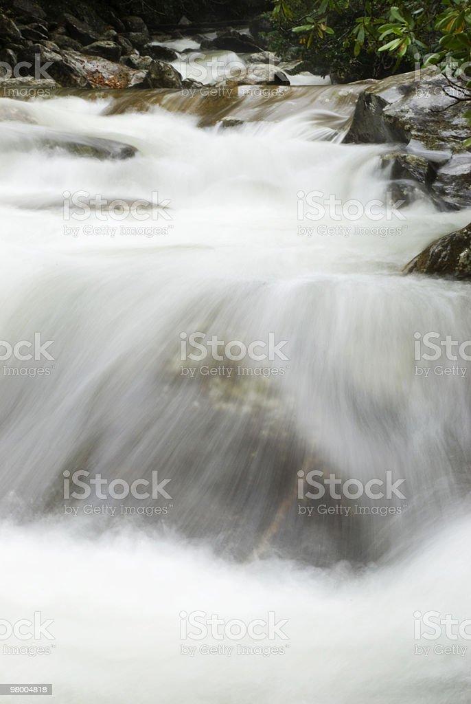 Montanhas Great Smoky as quedas d'água foto royalty-free