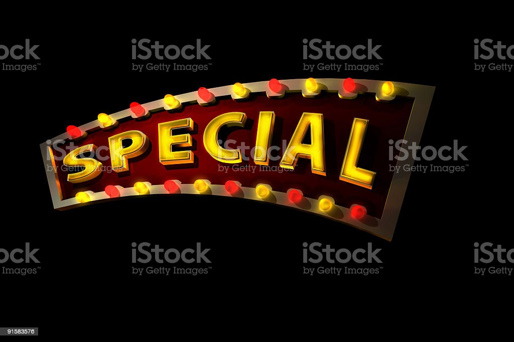 Great Special w PATH royalty-free stock photo