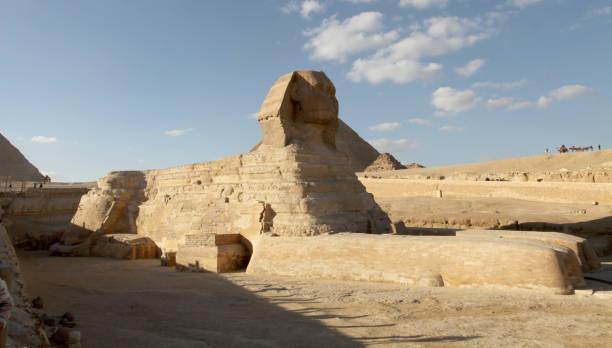Great Sphinx of Giza stock photo