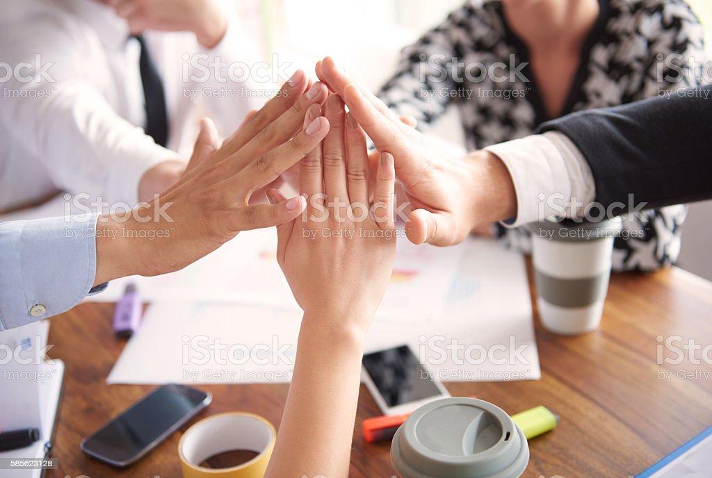 Erfolg des Unternehmens – Foto