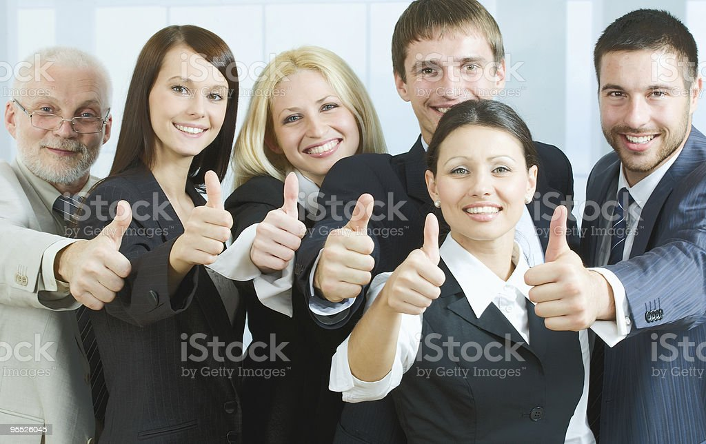 Great success royalty-free stock photo