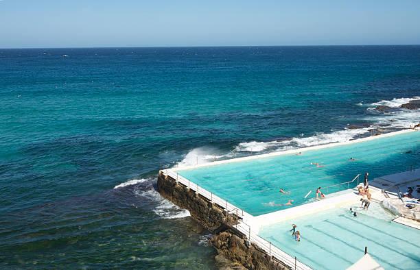 Swimmingpool in Bondi Beach – Foto