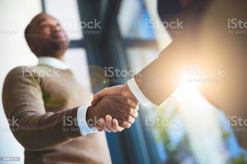 Great things can only be achieved together stock photo
