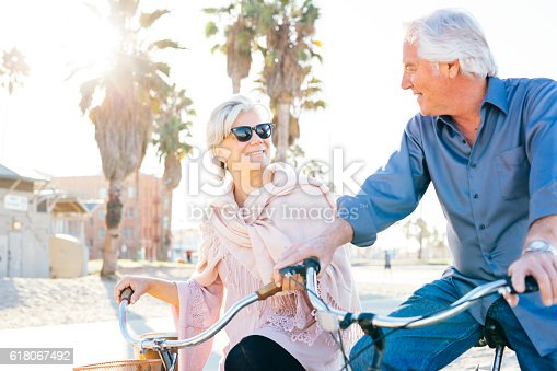 istock Great vacation for  senior people 618067492