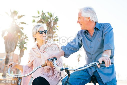 istock Great vacation for  senior people 623981384
