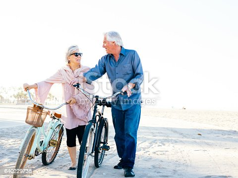 istock Great vacation for  senior people 640229738