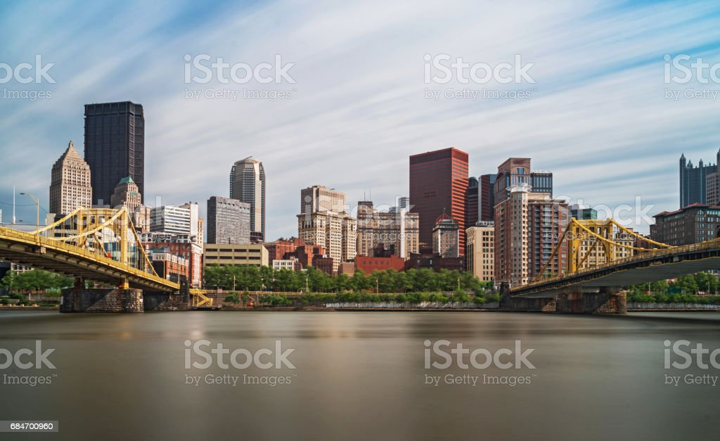 Great View of Pittsburgh stock photo