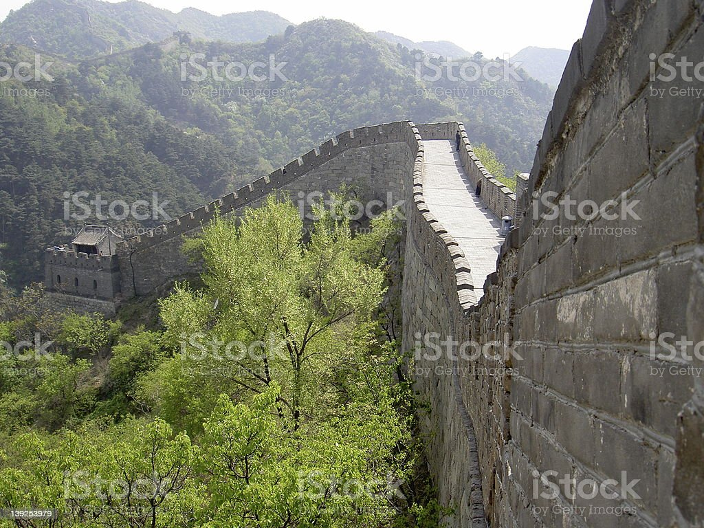 Great Wall 1 royalty-free stock photo