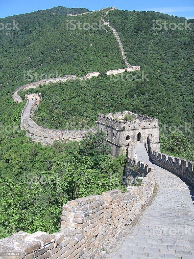 Great Wall, China royalty-free stock photo