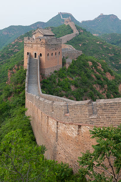 great wall, china - chinese military bildbanksfoton och bilder