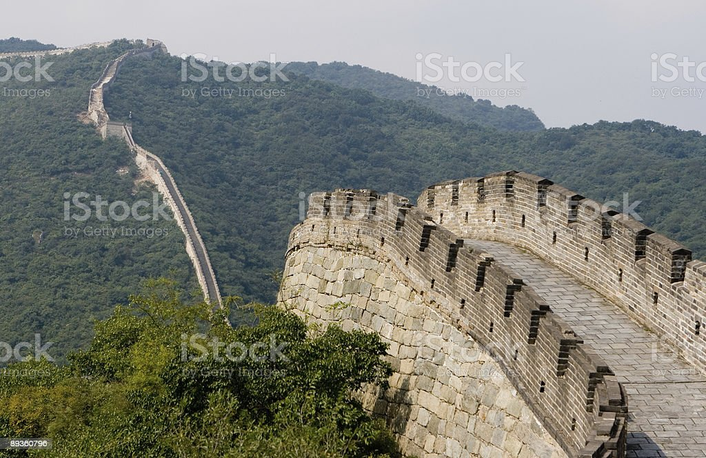 Great Wall quattro foto stock royalty-free