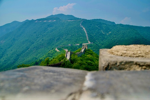 Great Wall from behind teh wall 2