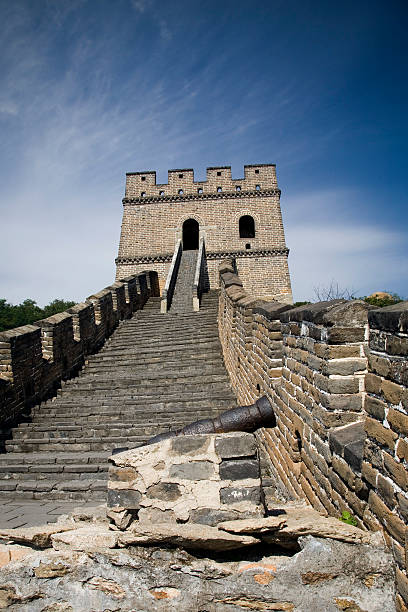 great wall of china - chinese military bildbanksfoton och bilder