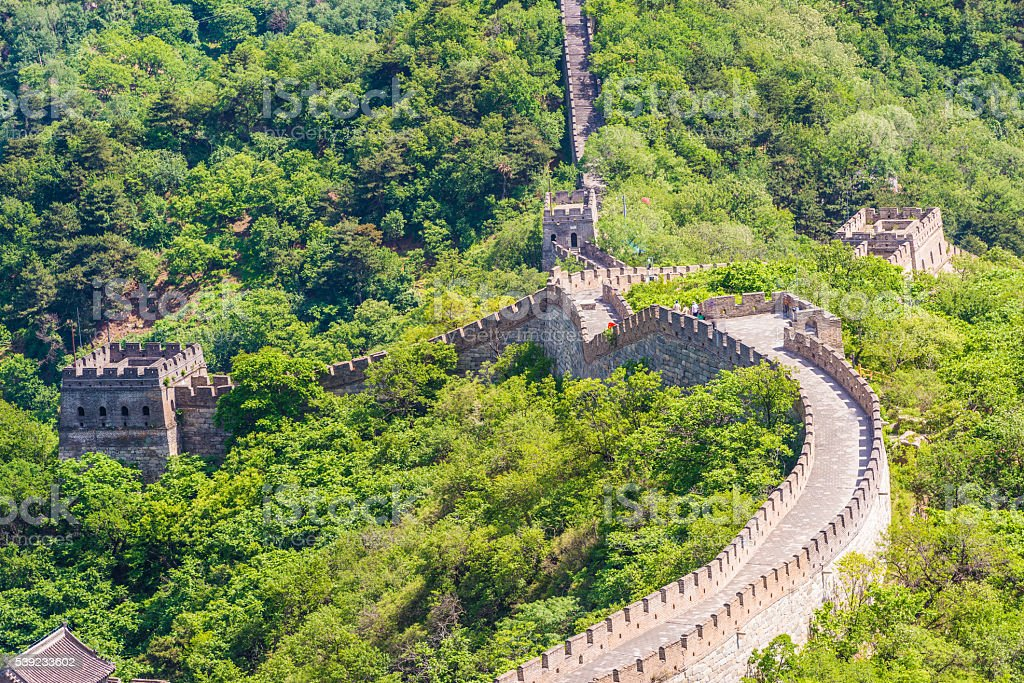 Grande Muralha da China  foto royalty-free
