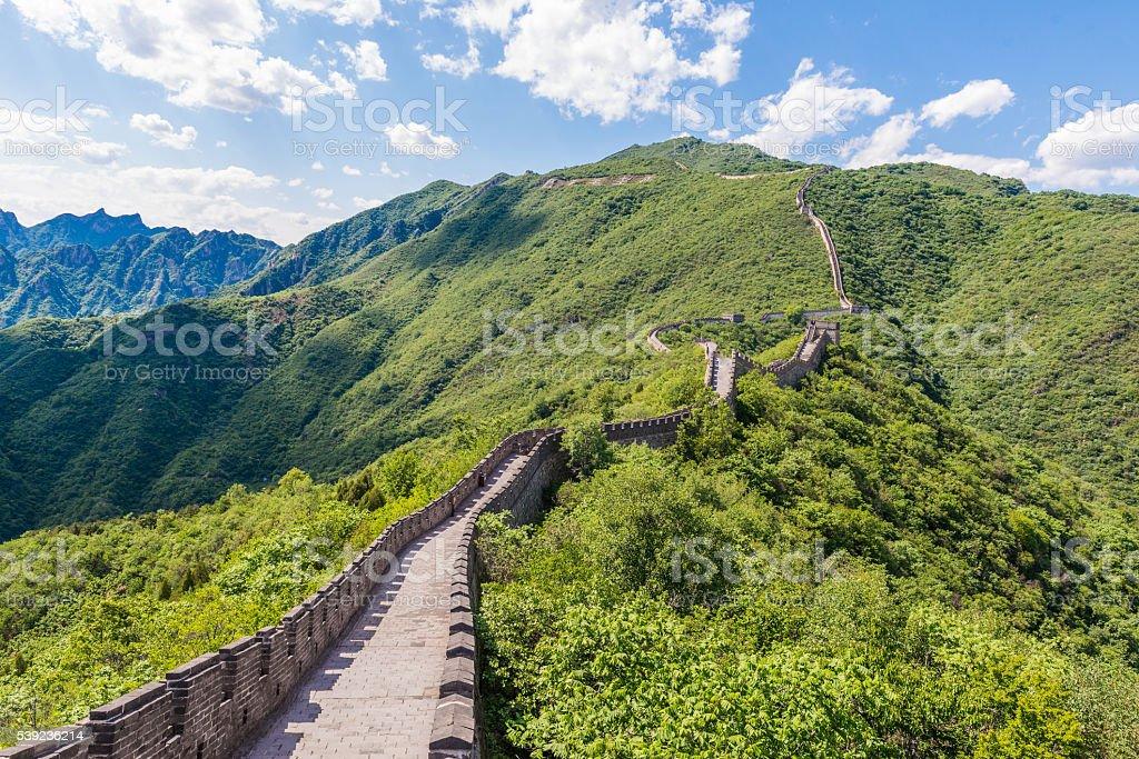 Gran muralla China  foto de stock libre de derechos