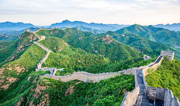 Great Wall of China stock photo