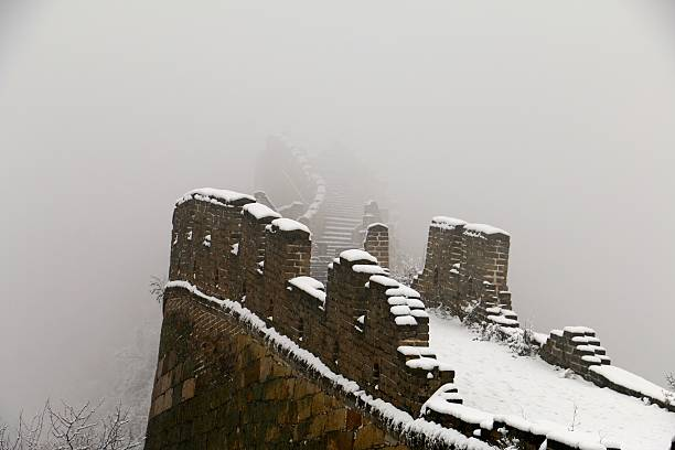 great wall of china - aleks66 stock pictures, royalty-free photos & images