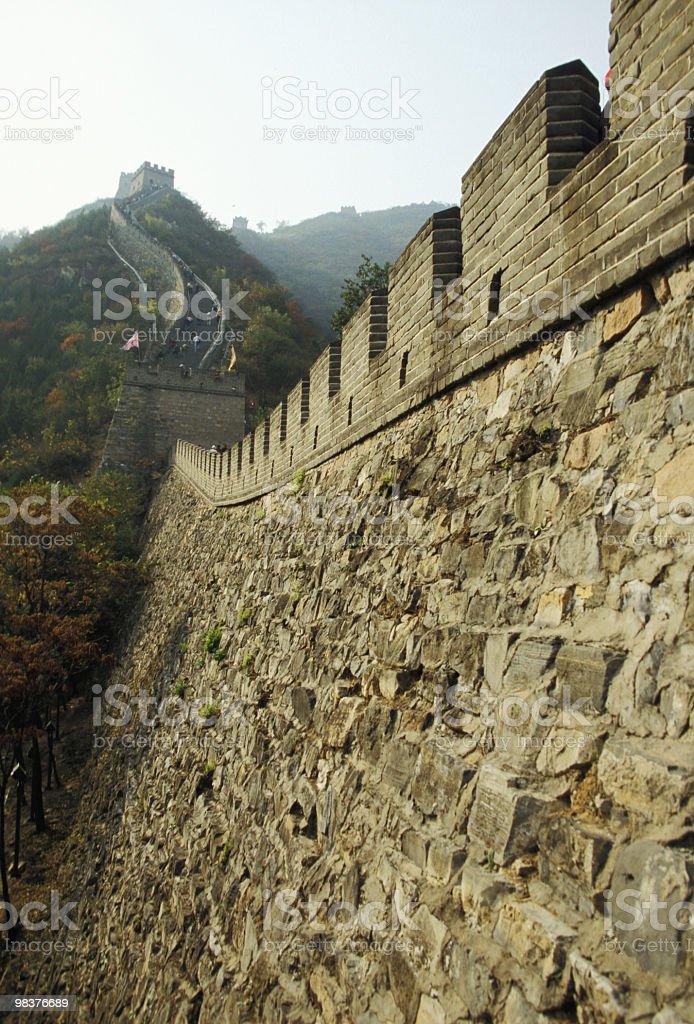Grande Muraglia della Cina foto stock royalty-free