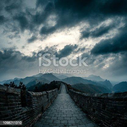 the Great Wall at beijing,china