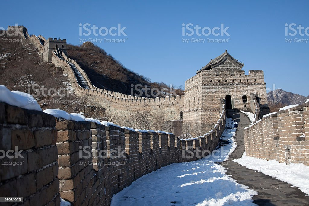 Grande wall foto stock royalty-free