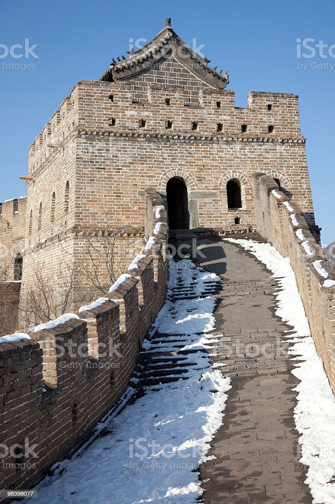 great wall royalty-free 스톡 사진