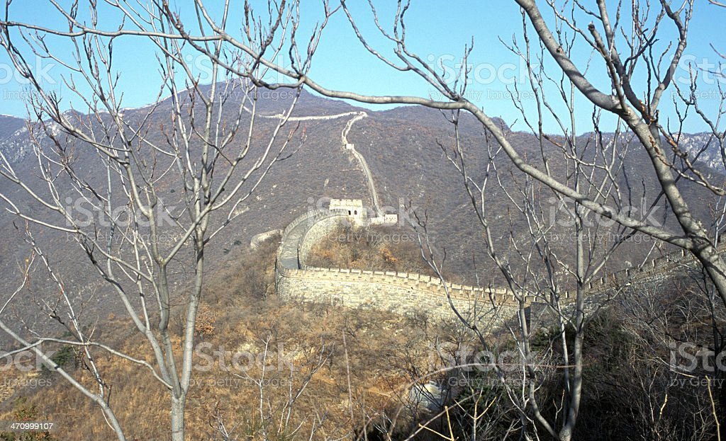 Great Wall View royalty-free stock photo