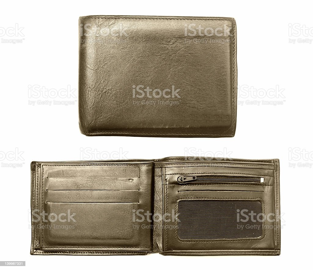 Great Wallet at high resolution royalty-free stock photo