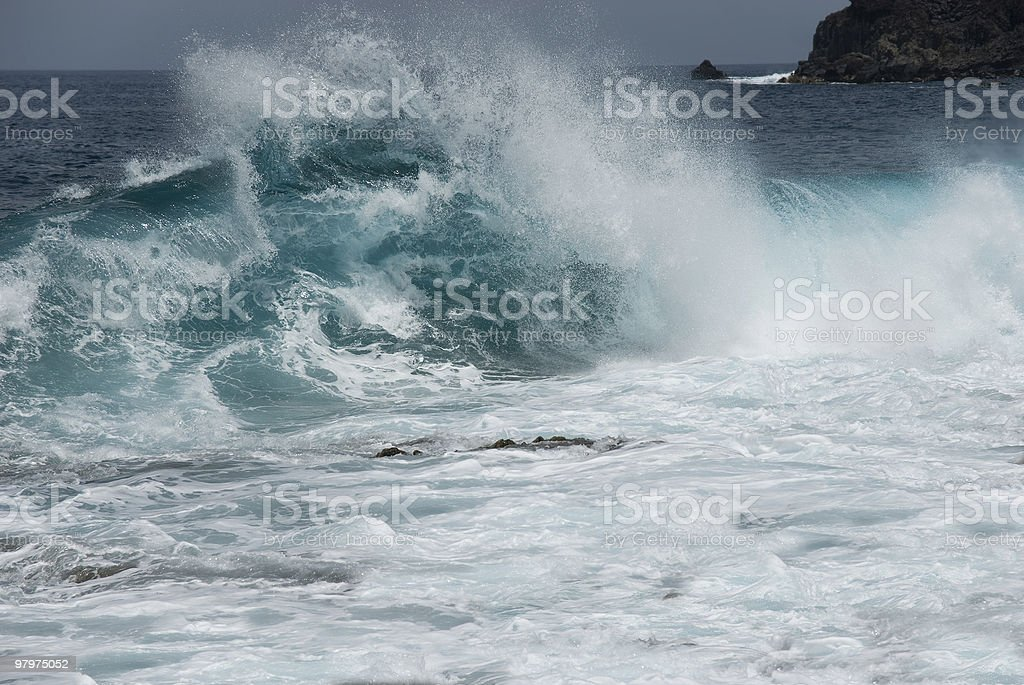 Great wave royalty-free stock photo