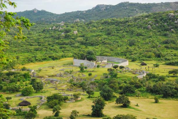 Great Zimbabwe Ruins, Southern Africa stock photo