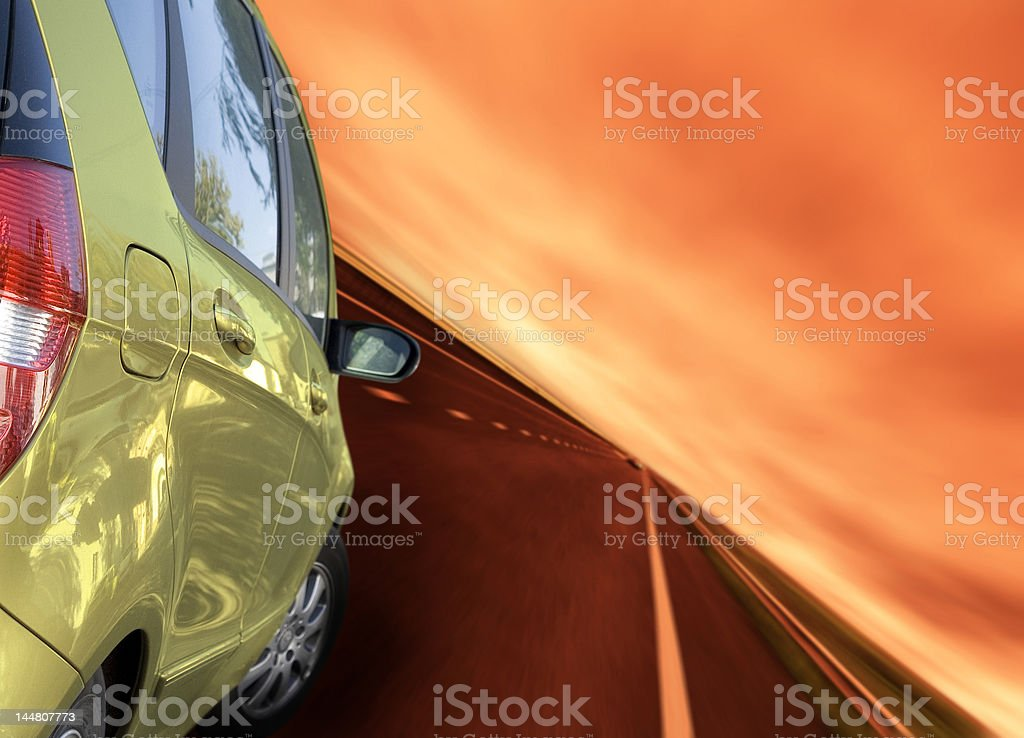 Greate car royalty-free stock photo