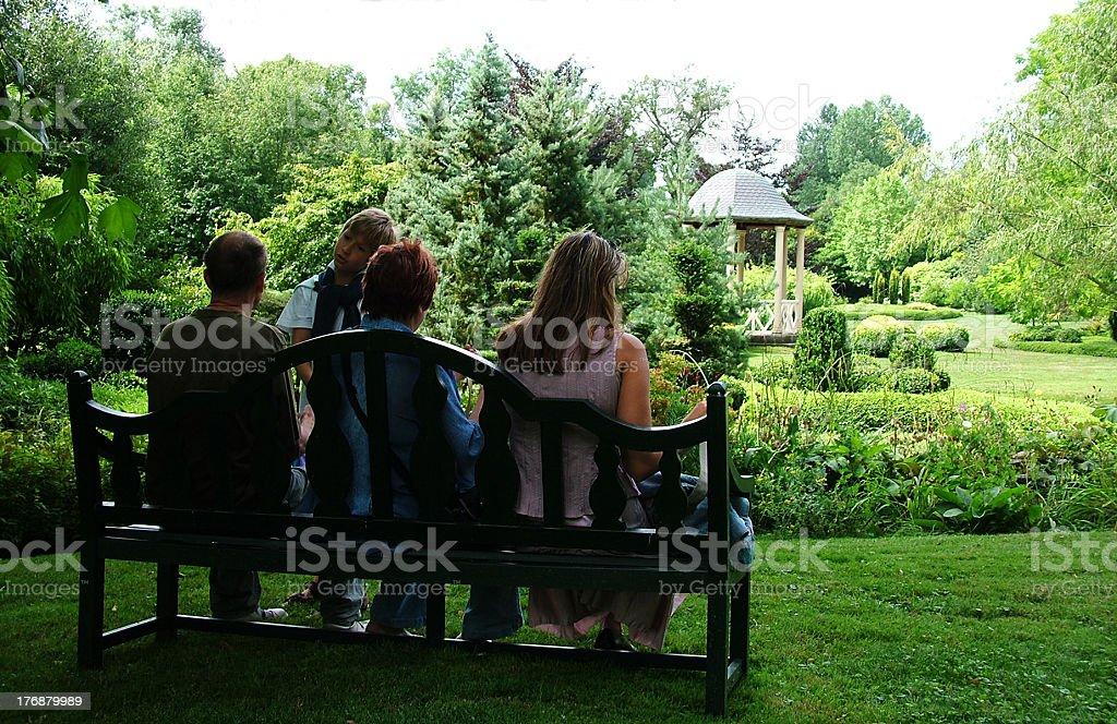 Greater family stock photo