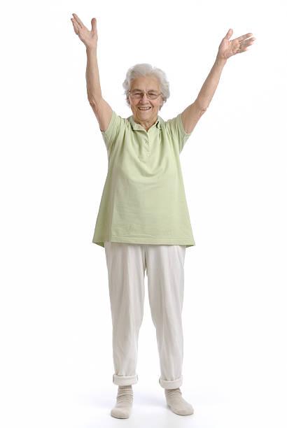 Great-Großmutter in Aktion – Foto