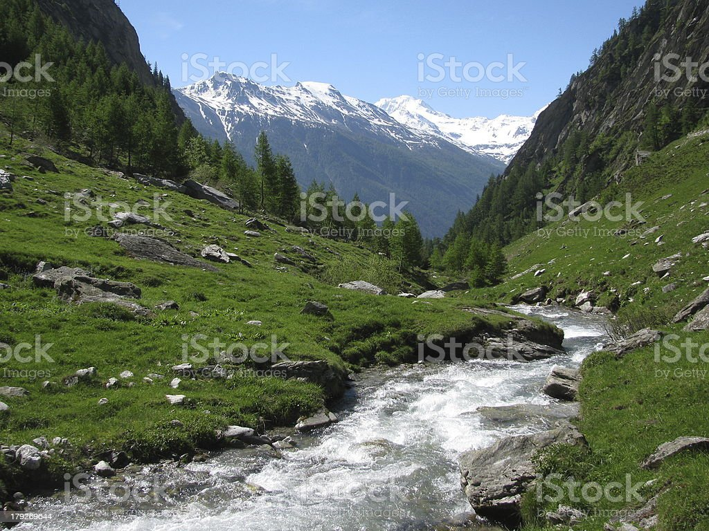 Gredetschtal royalty-free stock photo