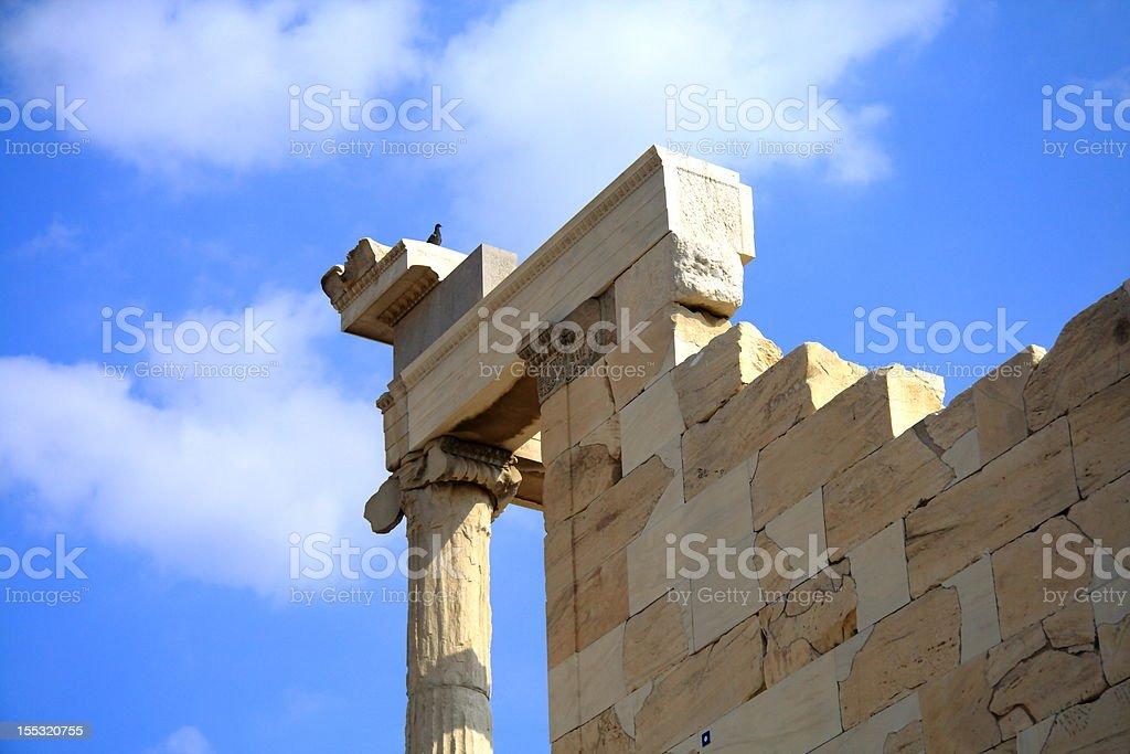 Greece Acient Temple royalty-free stock photo