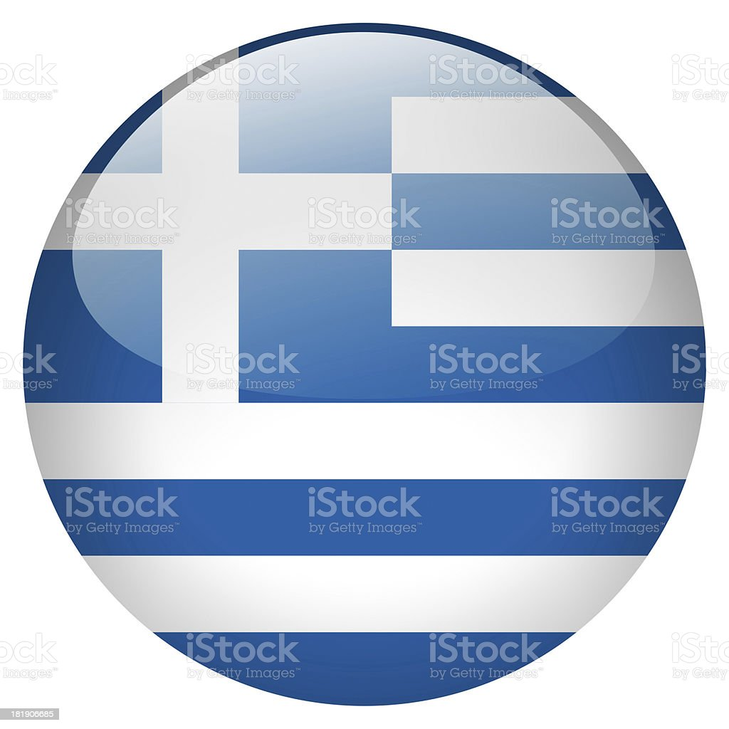 greece button stock photo