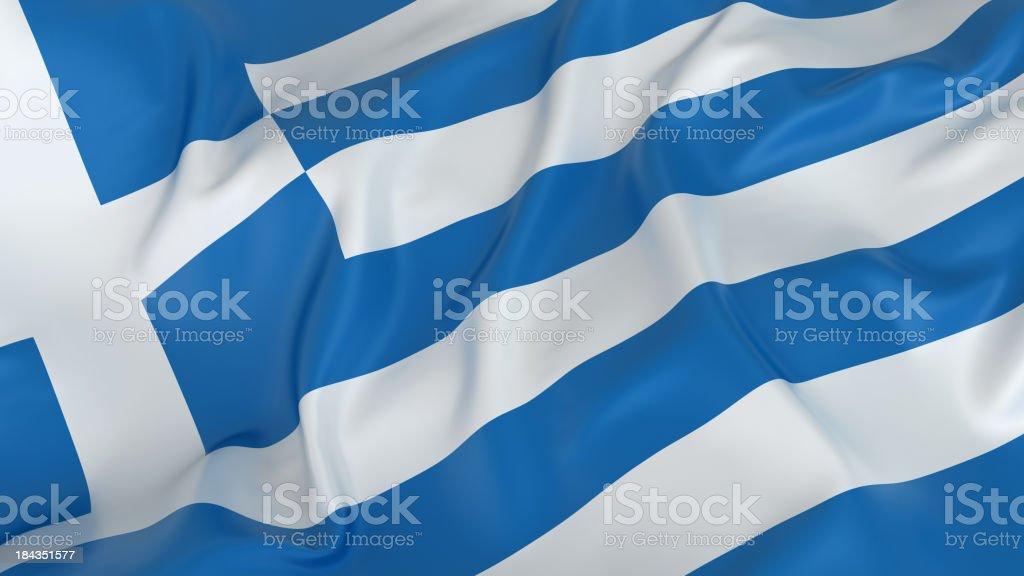 Greece Flag stock photo