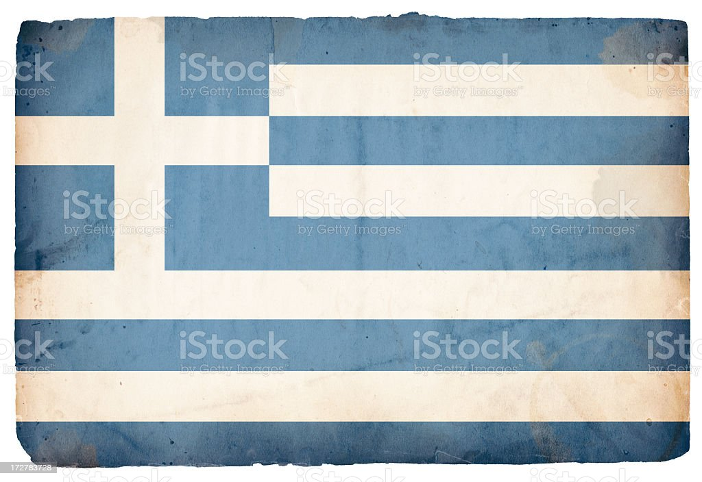 Greece Flag XXXL stock photo