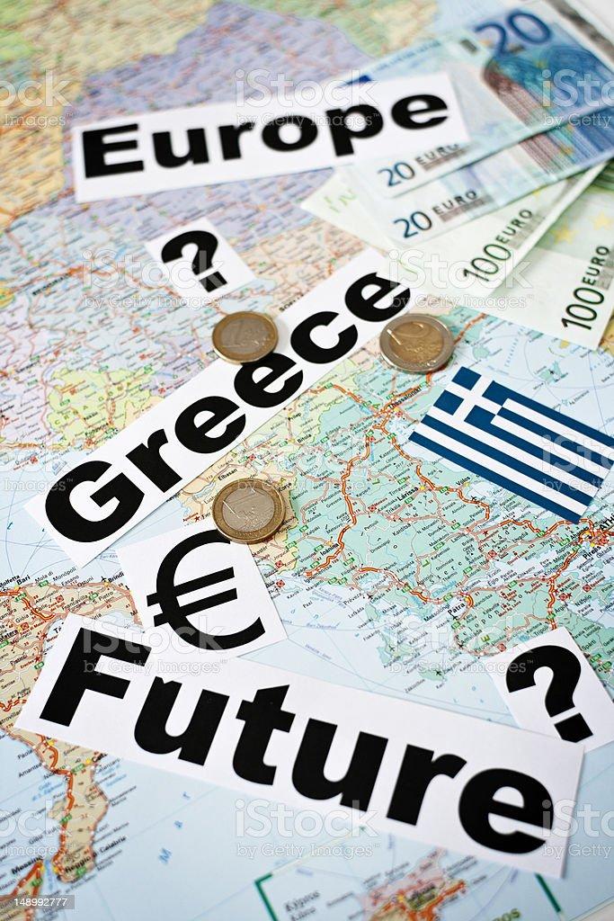 Greece - Future stock photo