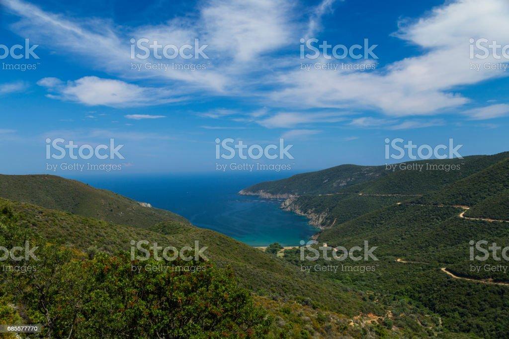 Greece Halkidiki royalty-free stock photo