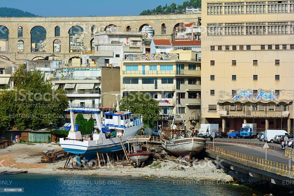 Kavala, Grécia  foto royalty-free