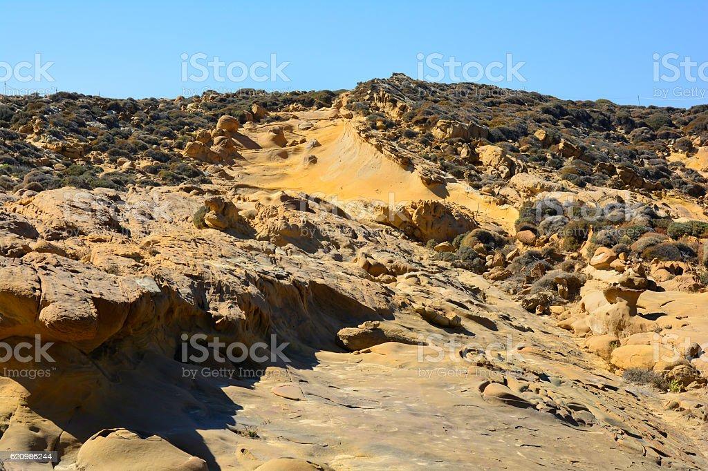 Grécia, Ilha de Lemnos foto royalty-free