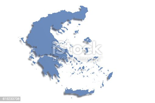 istock Greece map 615233708