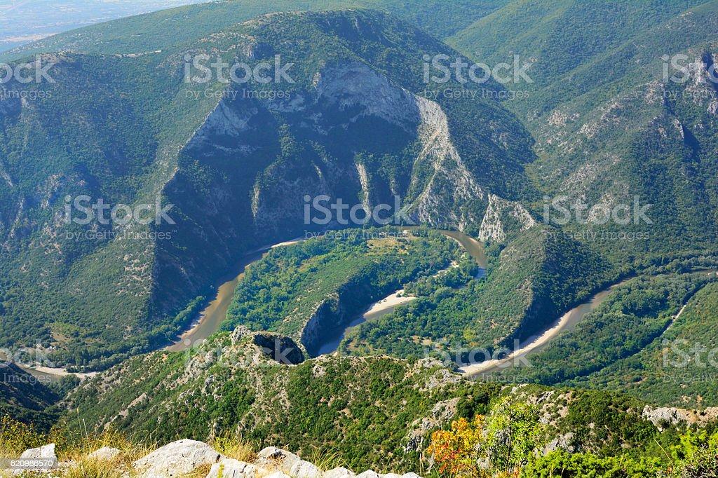 Grécia, Nestos foto royalty-free