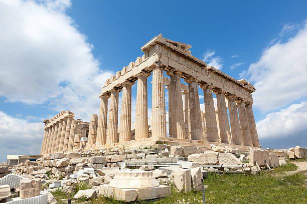 Griechenland. Parthenon ohne Scaffolds. – Foto