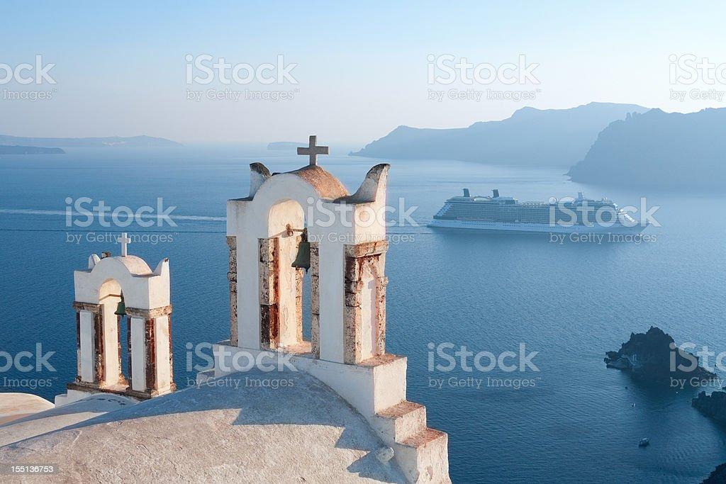 Greece, Santorini Views stock photo