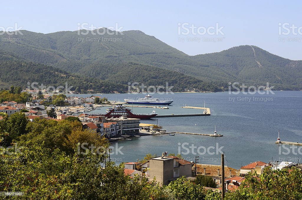 Greece, Thassos royalty-free stock photo