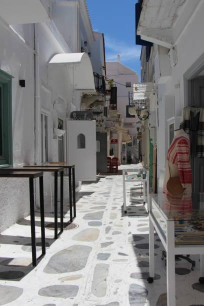 Greece- Tinos - old town stock photo